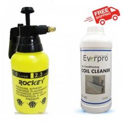 空调冷气铝线圈洗洁剂器+1升压力喷雾器